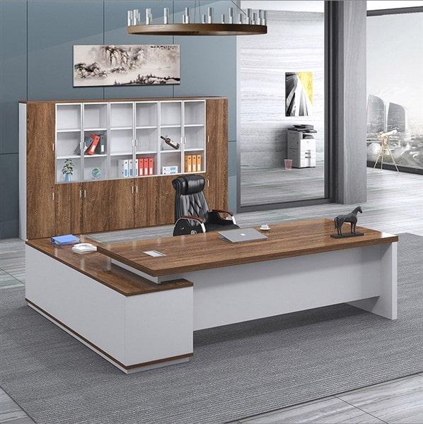 Bàn ghế gỗ thanh lý nội thất văn phòng