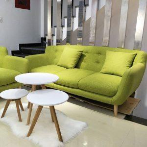 Ghế sofa văn nỉ 3 chỗ dài 2m