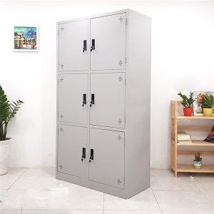 Thanh lý Tủ sắt locker 6 ngăn giá rẻ