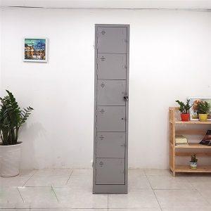 Thanh lý Tủ sắt locker 6 ngăn một cột