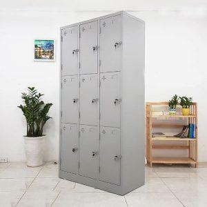 Thanh lý Tủ Locker 9 ngăn mới 100%