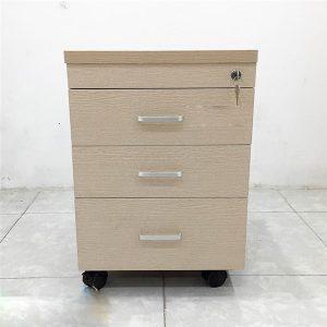 Tủ tài liệu di động vân sồi 3 ngăn