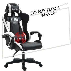 Thanh lý Ghế Gaming Extreme Zero S đen trắng - TLGG02