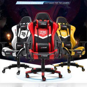 Thanh lý Ghế Gaming Extreme Zero V1 đỏ đen - TLGG03