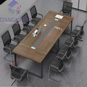 Thanh lý bàn họp chân sắt 3m6 - TLBGDK107